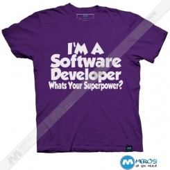 تیشرت طرح Software developer