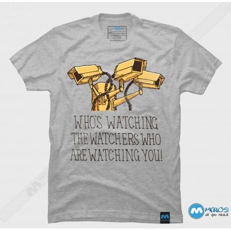 تیشرت طرح Surveillance