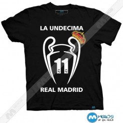 تیشرت طرح La UNDECIMA Real Madrid