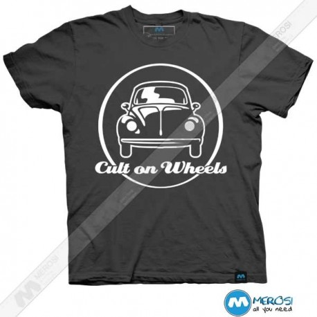 تیشرت طرح Car Cult on Wheels (white)
