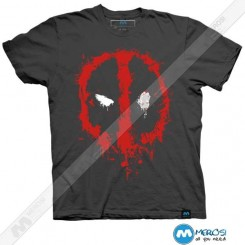 تیشرت طرح Deadpool Splatter