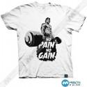 تیشرت طرح NO PAIN NO GAIN