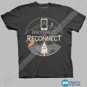 تیشرت طرح Reconnect