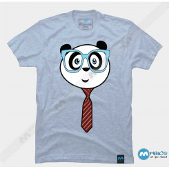 تیشرت طرح Panda Nerd