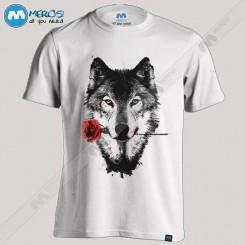 تیشرت طرح Wolf in Love