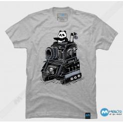 تیشرت طرح Panda's Terrible Tank of Terror