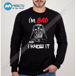 آستین بلند سویشرتی Bad Darth Vader