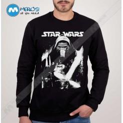 آستین بلند سویشرتی Star Wars Black & White