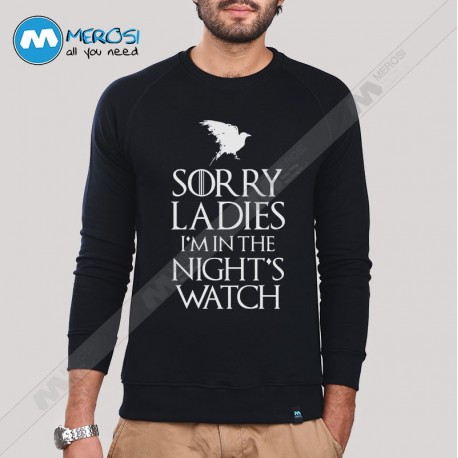 آستین بلند سویشرتی Sorry Ladies Game Of Thrones First