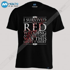 تیشرت Red Wedding Game Of Thrones