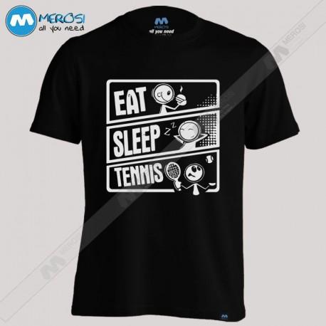 تیشرت Eat Sleep Tennis