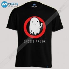تیشرت طرح Ghosts R OK