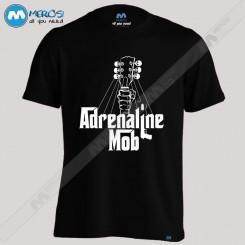 تیشرت طرح Adrenaline Mob