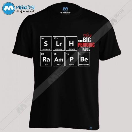 تیشرت The Big Bang Theory Periodic Table