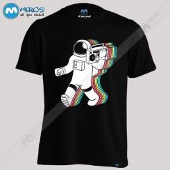 تیشرت طرح Space Music Box