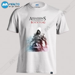 تیشرت طرح ASSASSINs CREED black flag