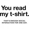 تیشرت طرح ua read my t-shirt