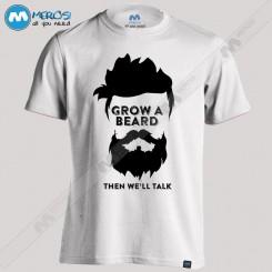 تیشرت Grow a Beard When We'll Talk