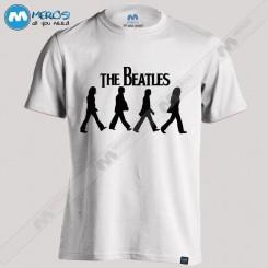 تیشرت طرح the Beatles way