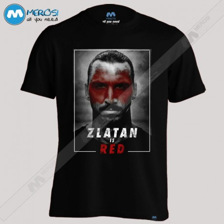 تیشرت Zlatan Is Red