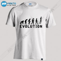 تیشرت Basketball Evolution
