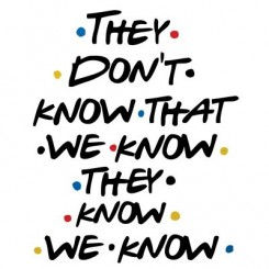 تیشرت They Don't Know Friends Serie