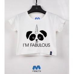 نیم تنه دخترانه Panda Fabulous